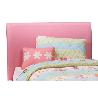Fantasia Upholstered Headboard in Pink Size: Full