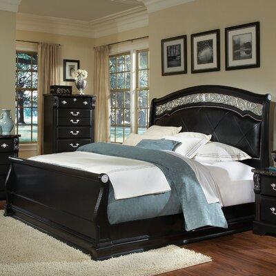 Buy Low Price Standard Furniture Vienna Sleigh Bedroom Collection Bedroom Set Mart