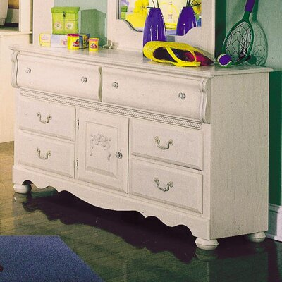 Easy financing Diana 6 Drawer Dresser...