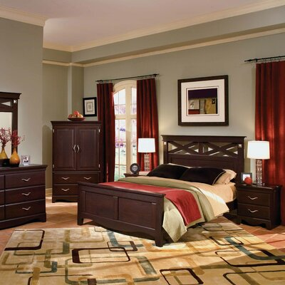Buy Low Price Standard Furniture City Crossing Panel Bedroom Collection Bed