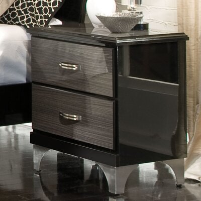 Rent to own Decker  2 Drawer Nightstand...