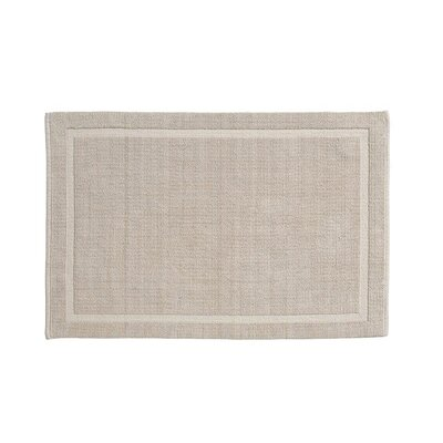 Lao Cotton Bath Mat Size: 24 x 40, Color: Sand