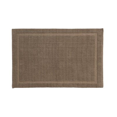 Winterville Cotton Bath Mat Size: 21 x 34, Color: Latte