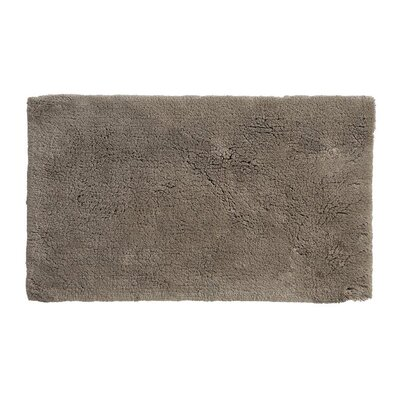 Alida Cotton Bath Rug Size: 2.5 H x 24 W x 40 D, Color: Taupe