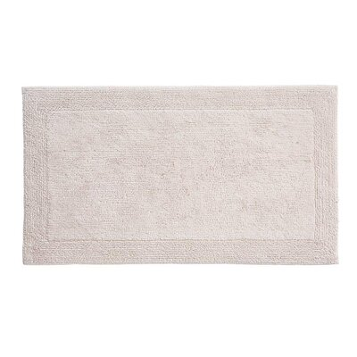 Irasburg Organic Cotton Bath Rug Size: 24 x 40, Color: Panna
