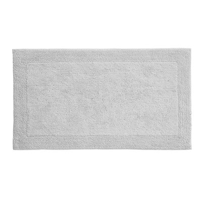 Irasburg Organic Cotton Bath Rug Size: 17 x 24, Color: Grey