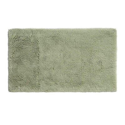 Alida Cotton Bath Rug Size: 2.5 H x 24 W x 60 D, Color: Green Tea