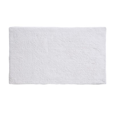 Alida Cotton Bath Rug Size: 2.5 H x 24 W x 40 D, Color: White