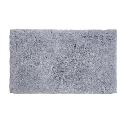 Alida Cotton Bath Rug Size: 2.5 H x 24 W x 60 D, Color: Denim Blue