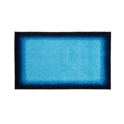 Avalon Blue Bath Rug Color: Blue