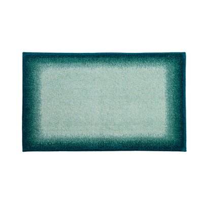 Avalon Blue Bath Rug Color: Green