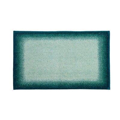 Avalon Blue Bath Rug Color: Green
