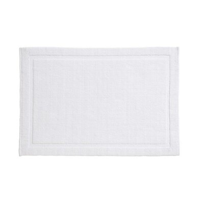 Winterville Cotton Bath Mat Size: 24 x 40, Color: White