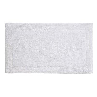 Puro Organic Cotton Bath Rug Size: 24 x 40, Color: White