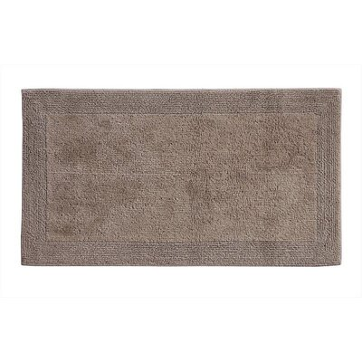 Irasburg Organic Cotton Bath Rug Size: 17 x 24, Color: Chocolate