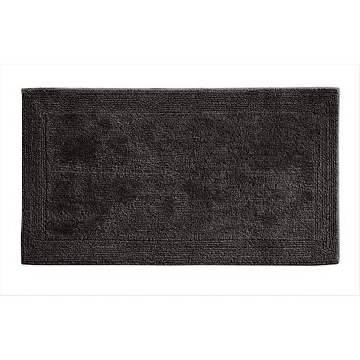 Irasburg Organic Cotton Bath Rug Size: 24 x 40, Color: Graphite