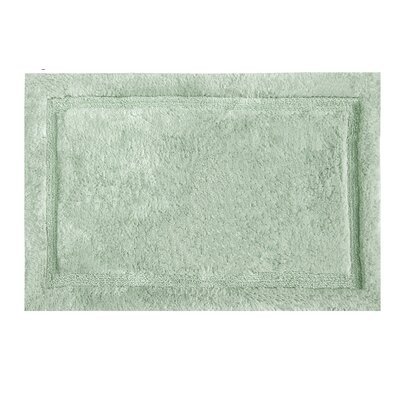Asheville Organic Cotton Bath Rug Color: Sage, Size: 21 W x 34 L
