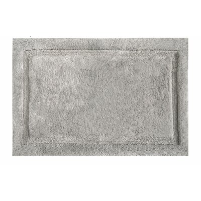 Asheville Organic Cotton Bath Rug Color: Taupe, Size: 24 W x 60 L