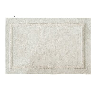 Asheville Organic Cotton Bath Rug Color: Ivory, Size: 24