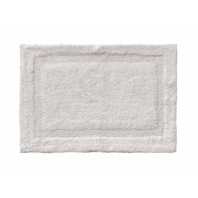 Asheville Organic Cotton Bath Rug Color: Driftwood, Size: 21 W x 34 L