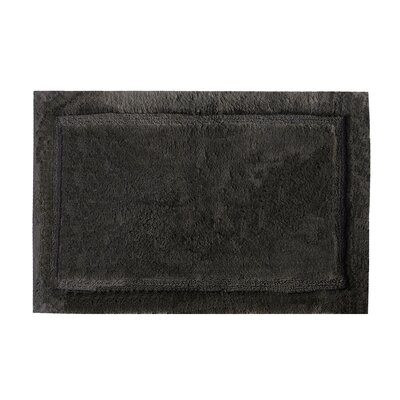 Asheville Organic Cotton Bath Rug Size: 24 W x 40 L, Color: Slate Gray
