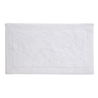 Puro Organic Cotton Bath Rug Color: White, Size: 24 x 60