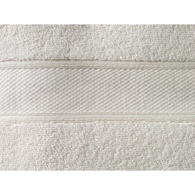 Aster Bath Sheet Color: Ivory