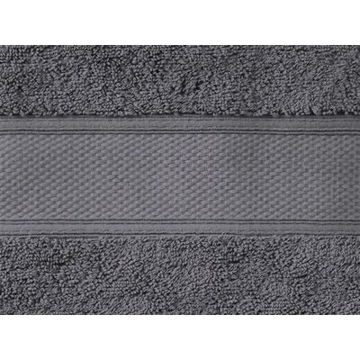 Aster Bath Sheet Color: Slate Gray