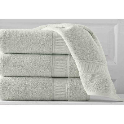 Aster Bath Sheet Color: Sage