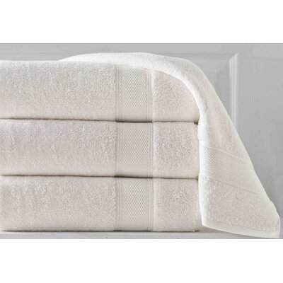 Aster 6 Piece Towel Set Color: Ivory