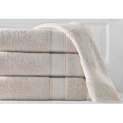 Aster 3 Piece Towel Set Color: Driftwood