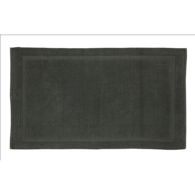 Lindner Cotton Bath Rug Size: 2.5 H x 24 W x 40 D, Color: Slate Gray