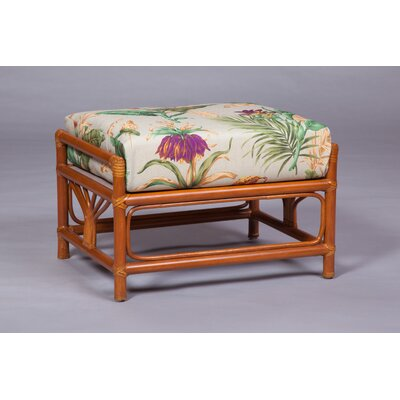 Ottoman Upholstery: Pecan