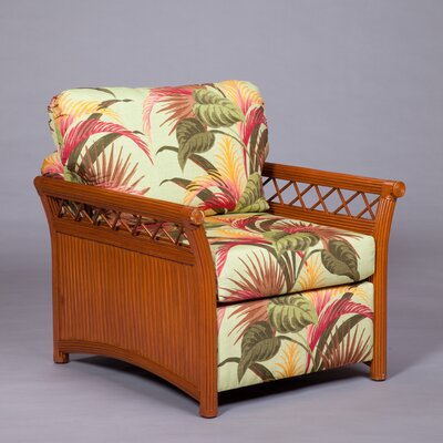 Arm Chair Color: Pecan