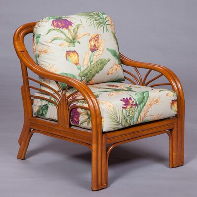 Arm Chair Color: Pecan