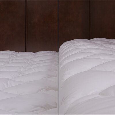 eLuxury Supply Extra Plush and Extra Thick Mattress Pad - Size: Full XL