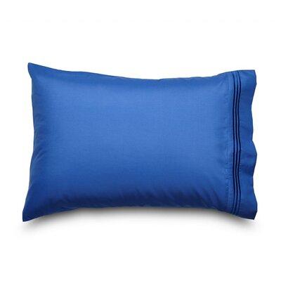 Queen Double Brushed Ultra Microfiber Pillowcase Color: Indigo Blue
