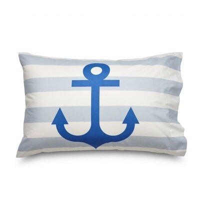 Queen Anchor Ultra Microfiber Pillowcase