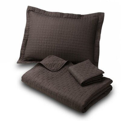 Rocco Luxury 3 Piece Quilt Set Size: King