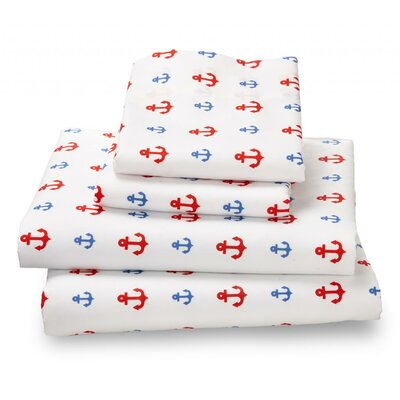 4 Piece Bed Sheet Set Size: Twin