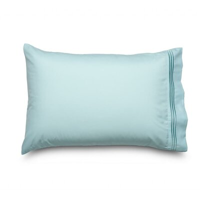 Queen Double Brushed Ultra Microfiber Pillowcase Color: Light Blue
