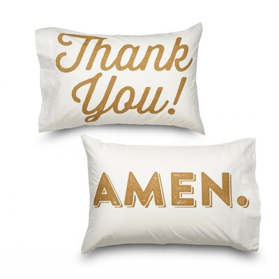 Thank You & Amen 2 Piece Ultra Mircofiber Pillowcase Set