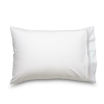 Queen Double Brushed Ultra Microfiber Pillowcase Color: White
