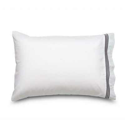 Queen Ultra Microfiber Pillowcase Color: Gray