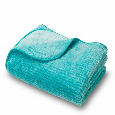 Microplush Blanket Color: Turquoise