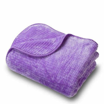 Microplush Blanket Color: Lilac