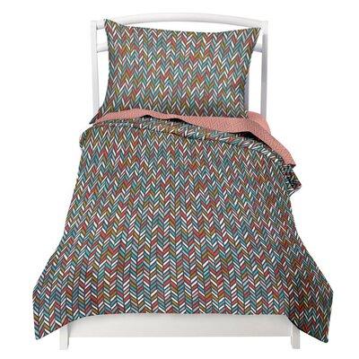Herringbone 2 Piece Twin Comforter Set