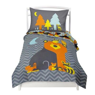 Woodland Creatures 2 Piece Twin Comforter Set