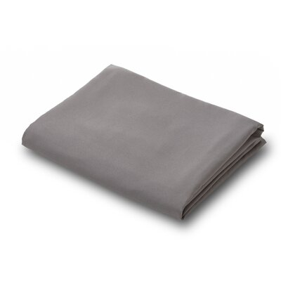 Luxury Flat Sheet Color: Gray