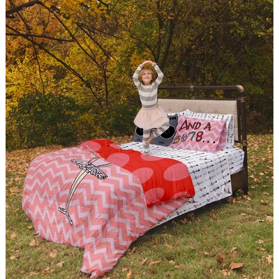 Ballerina / Brake Dancer Duvet Cover Set Size: Full / Queen